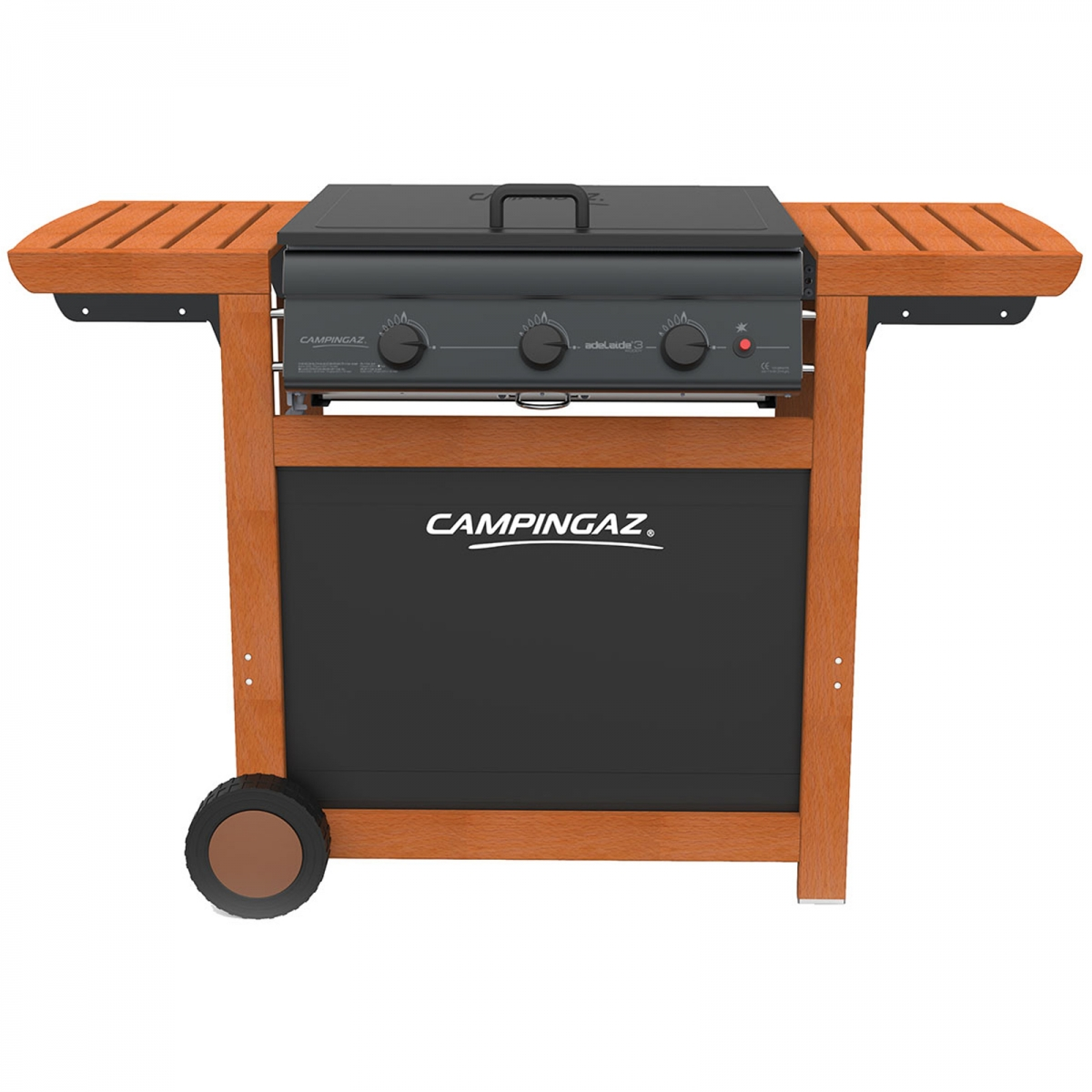 campingaz adelaide 3 woody barbecue a gas il mondo del barbecue. Black Bedroom Furniture Sets. Home Design Ideas