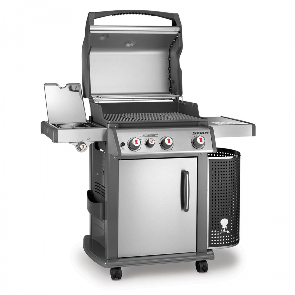 spirit premium s 330 gbs inox weber barbecue a gas il mondo del barbecue. Black Bedroom Furniture Sets. Home Design Ideas