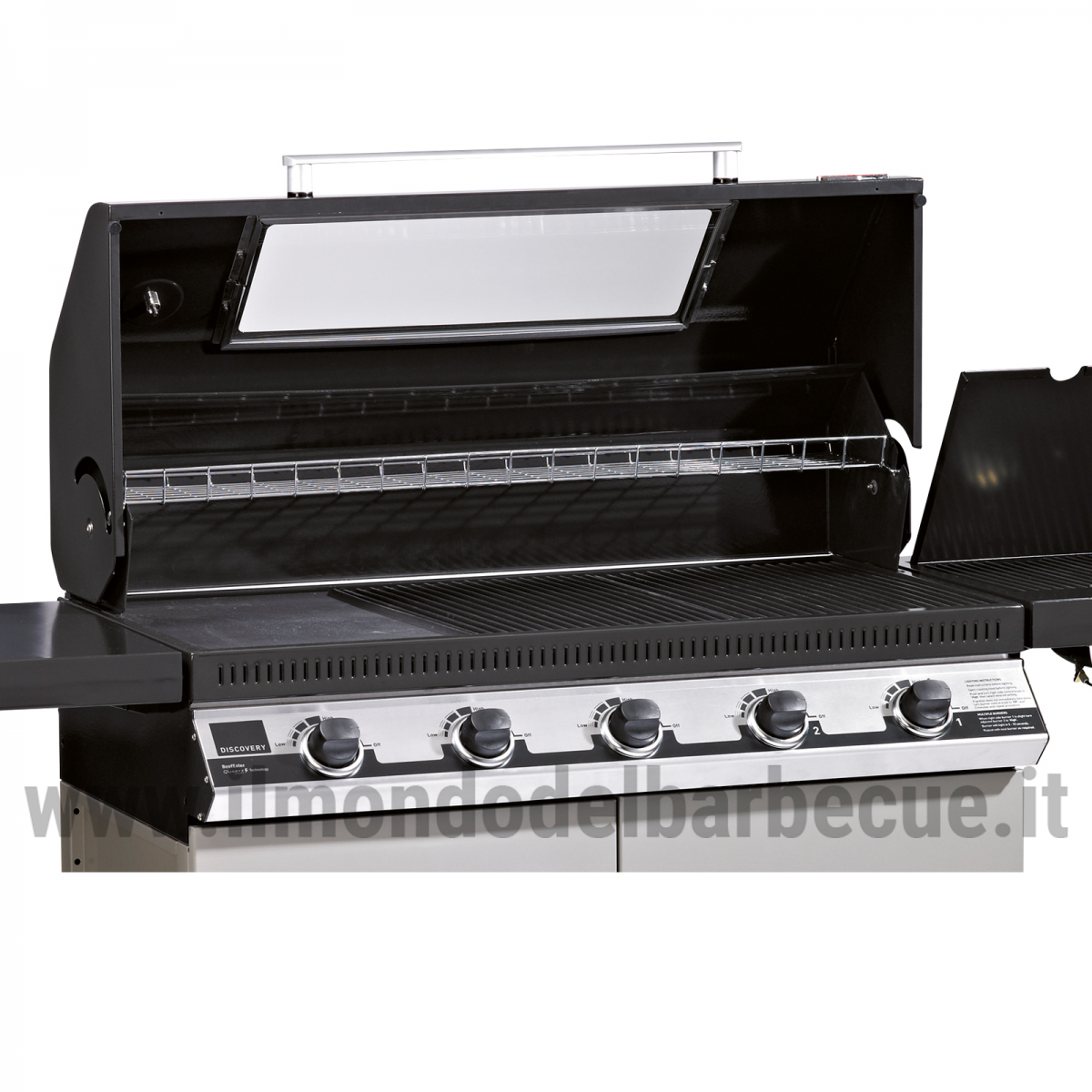 discovery 1100e 5 fuochi barbecue a gas il mondo del. Black Bedroom Furniture Sets. Home Design Ideas