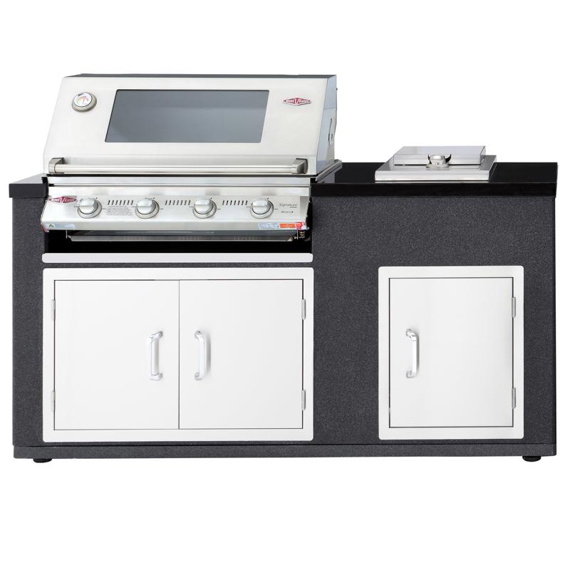 Artisan kitchen cucina da esterno acciaio modulo bbq fornello barbecue a gas il mondo del - Cucina da esterno con barbecue ...