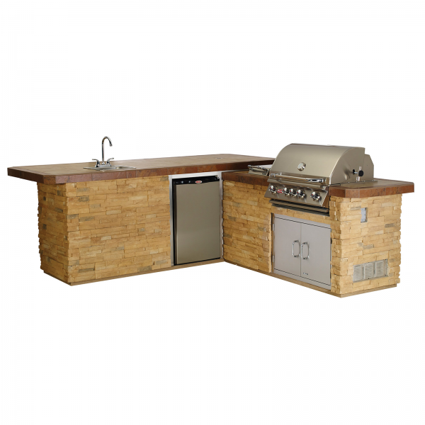 Cucina da esterno bull gourmet q outdoor kitchen island in for Cucine all aperto