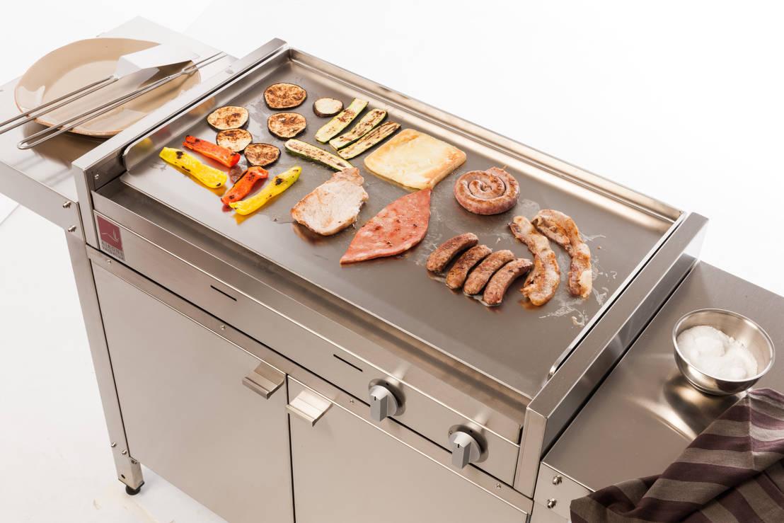 Show cooking cottura alla piastra - Piastra per cucinare ...